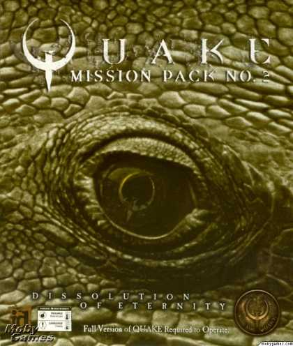 DOS Games - Quake Mission Pack No 2: Dissolution of Eternity