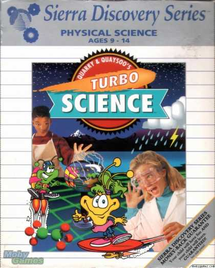 DOS Games - Quarky & Quaysoo's Turbo Science