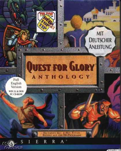 DOS Games - Quest for Glory Anthology