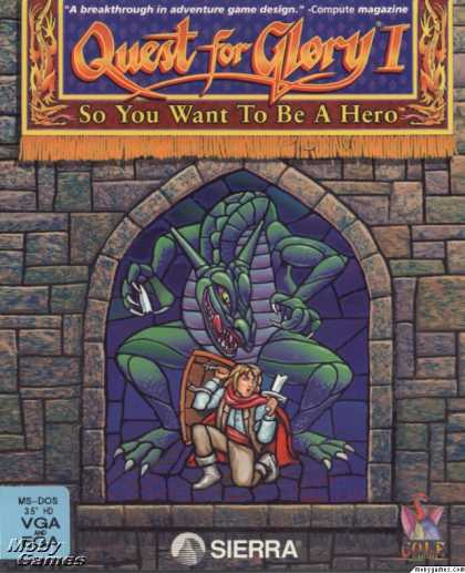DOS Games - Quest for Glory I: So You Want To Be A Hero