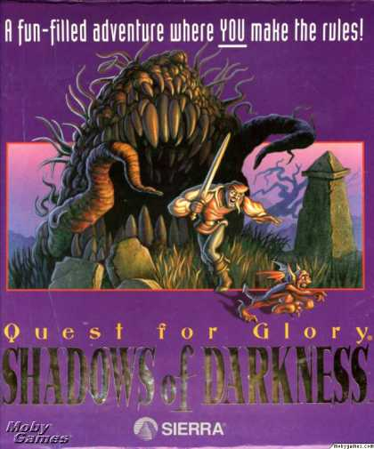 DOS Games - Quest for Glory IV: Shadows of Darkness