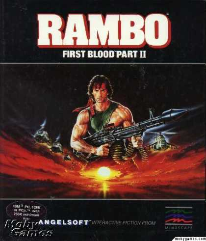 DOS Games - Rambo: First Blood Part II