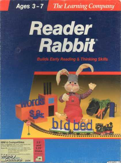 DOS Games - Reader Rabbit