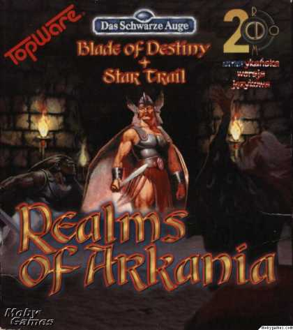 DOS Games - Realms of Arkania: Blade of Destiny + Star Trail
