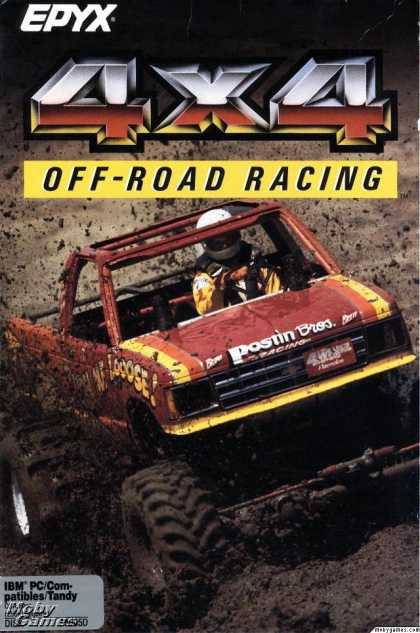 DOS Games - 4x4 Off-Road Racing