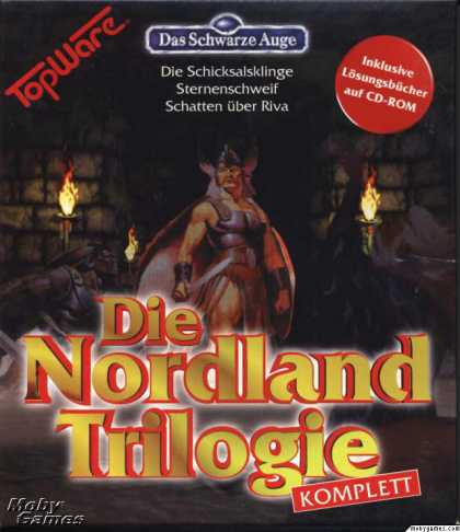 DOS Games - Realms of Arkania Trilogy