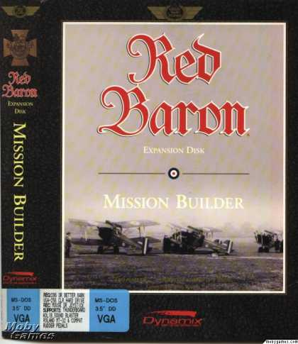 DOS Games - Red Baron: Mission Builder