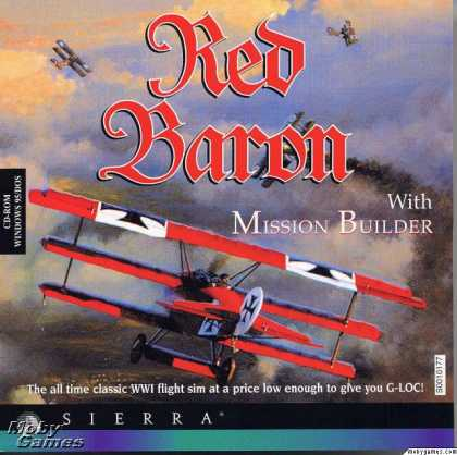 DOS Games - Red Baron With Mission Builder