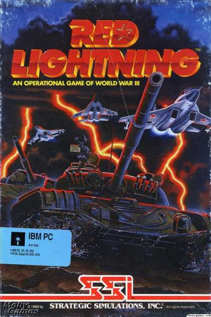 DOS Games - Red Lightning