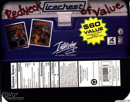 DOS Games - Redneck Icechest of Value