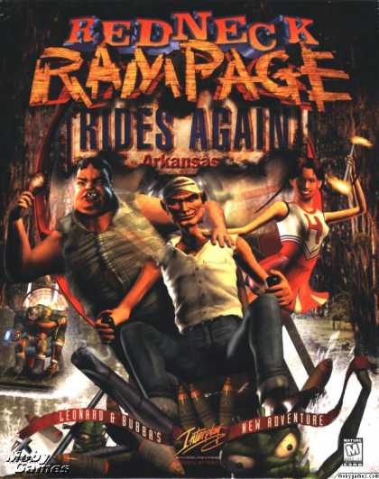 DOS Games - Redneck Rampage Rides Again: Arkansas