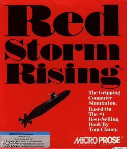 DOS Games - Red Storm Rising