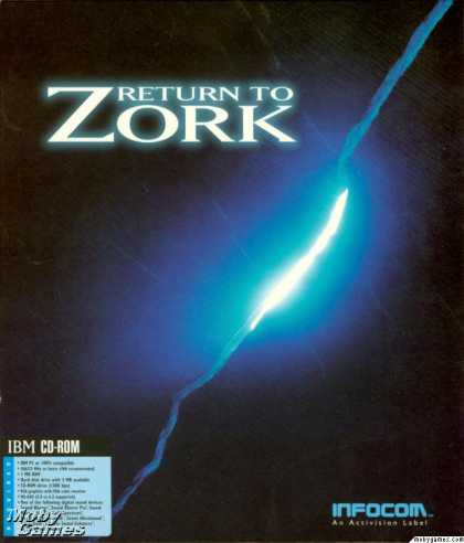 DOS Games - Return to Zork