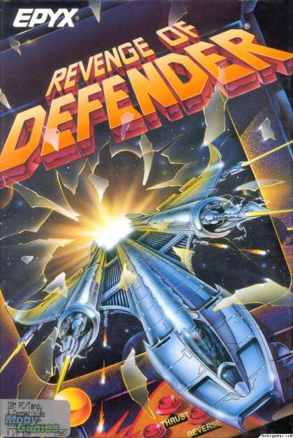 DOS Games - Revenge of Defender