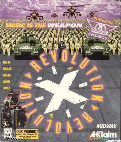 DOS Games - Revolution X