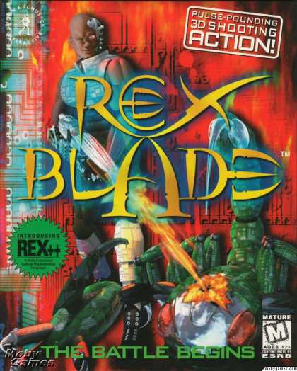 DOS Games - Rex Blade: The Apocalypse