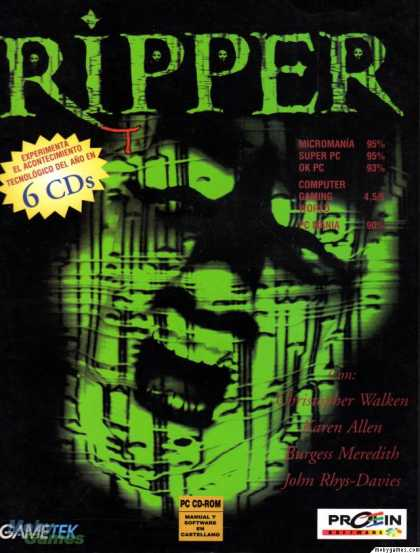 DOS Games - Ripper