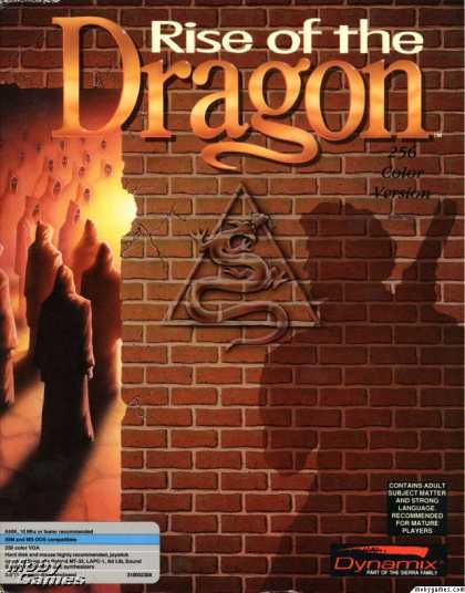 DOS Games - Rise of the Dragon