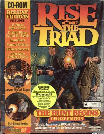 DOS Games - Rise of the Triad: The Hunt Begins (Deluxe Edition)