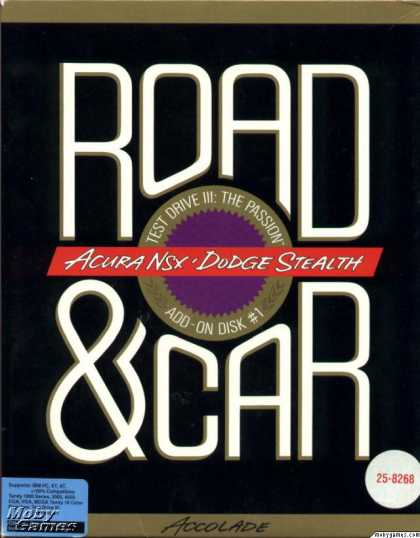 DOS Games - Road & Car