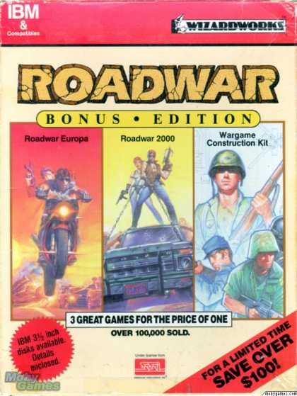 DOS Games - Roadwar (Bonus Edition)