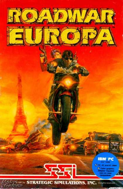 DOS Games - Roadwar Europa