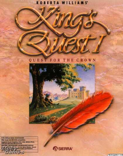 DOS Games - Roberta Williams' King's Quest I: Quest for the Crown