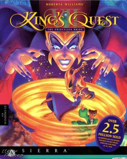 DOS Games - Roberta Williams' King's Quest VII: The Princeless Bride