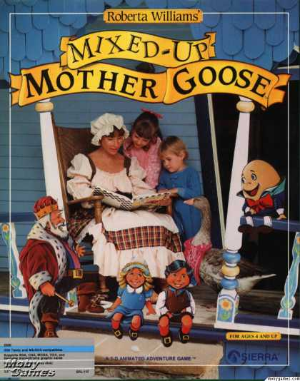 DOS Games - Roberta Williams' Mixed-Up Mother Goose