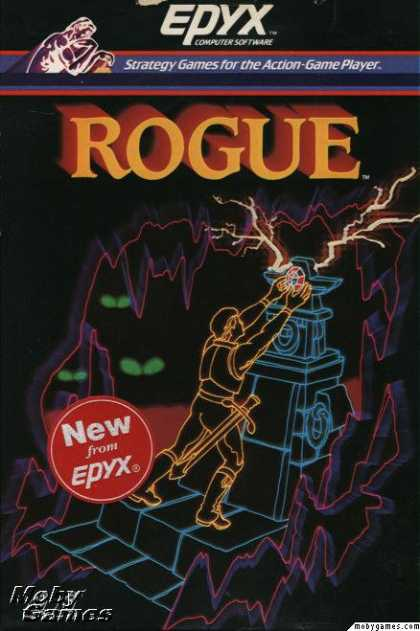 DOS Games - Rogue: The Adventure Game