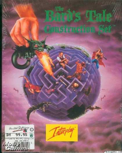 DOS Games - The Bard's Tale Construction Set