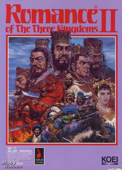 DOS Games - Romance of the Three Kingdoms II