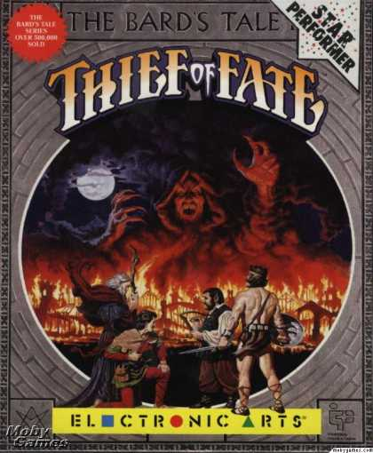 DOS Games - The Bard's Tale III: Thief of Fate