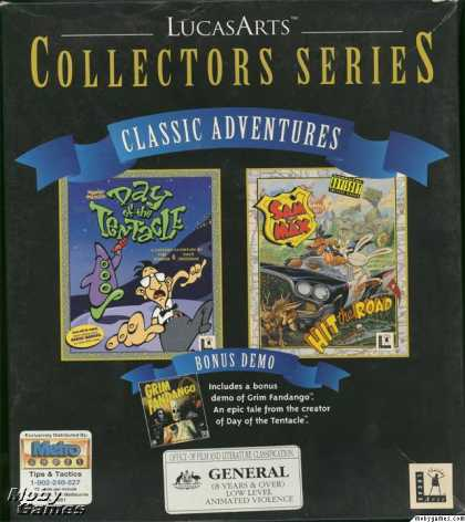 DOS Games - Sam & Max and Day of the Tentacle Classic Adventures Pack