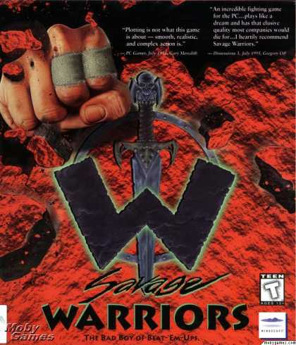 DOS Games - Savage Warriors