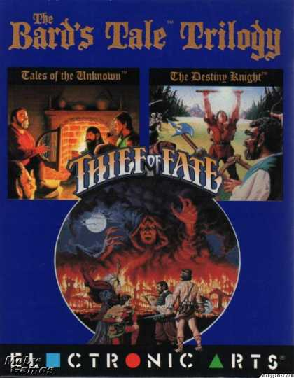 DOS Games - The Bard's Tale Trilogy