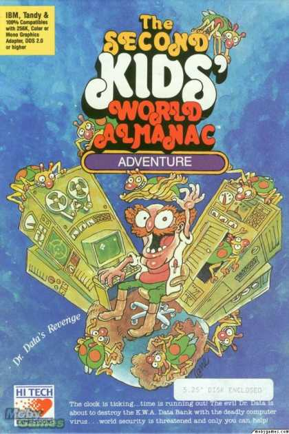 DOS Games - The Second Kids' World Almanac Adventure