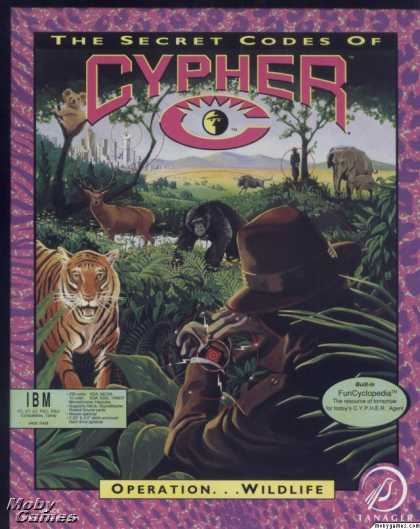 DOS Games - The Secret Codes of C.Y.P.H.E.R.: Operation Wildlife