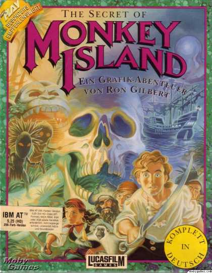 DOS Games - The Secret of Monkey Island