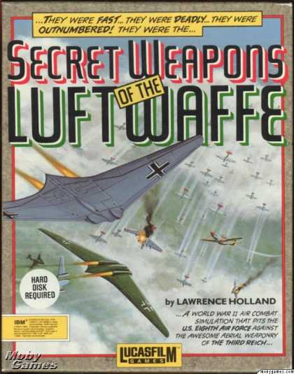 DOS Games - Secret Weapons of the Luftwaffe