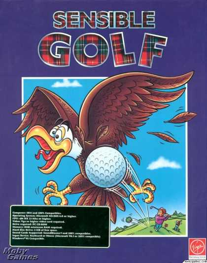 DOS Games - Sensible Golf