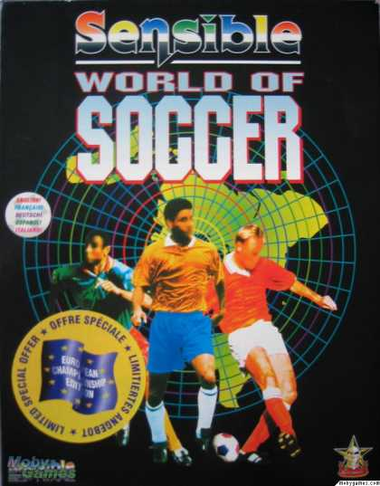 DOS Games - Sensible World of Soccer: European Championship Edition