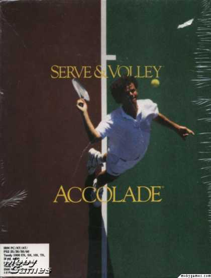 DOS Games - Serve & Volley