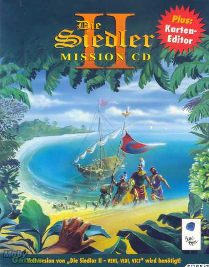 DOS Games - The Settlers II Mission CD