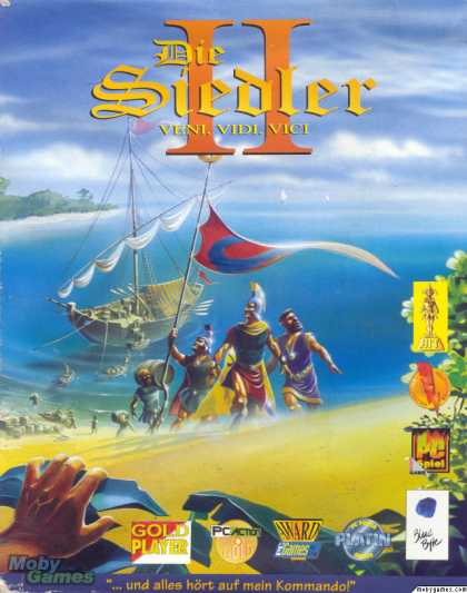 DOS Games - The Settlers II: Veni, Vidi, Vici