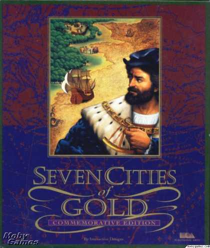 DOS Games - Seven Cities of Gold (Commemorative Edition)