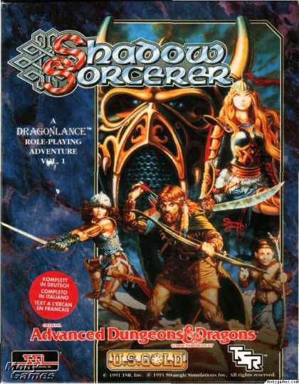 DOS Games - Shadow Sorcerer