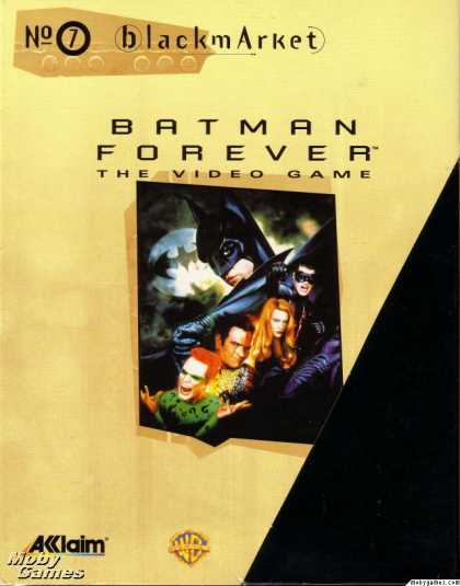 DOS Games - Batman Forever