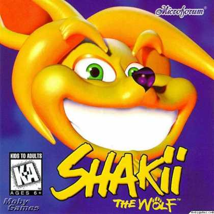 DOS Games - Shakii the Wolf