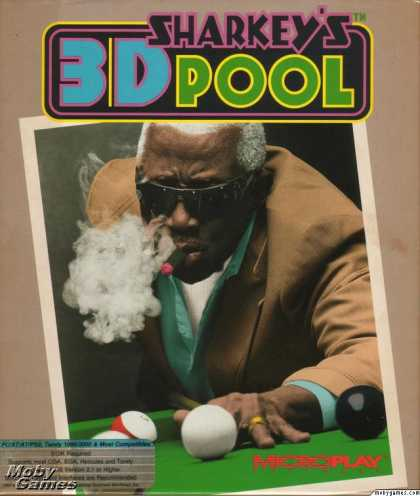 DOS Games - Sharkey's 3D Pool